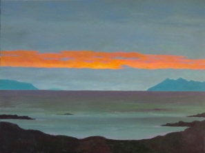 Between Eigg & Rhum